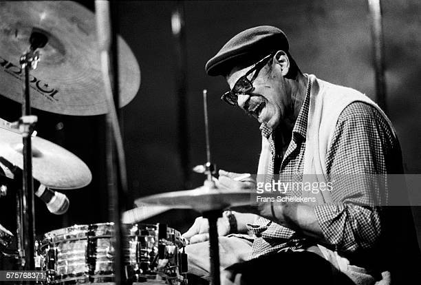 Sunny Murray, drums, performs on October 22nd 1991 at the BIM huis in Amsterdam, Netherlands.