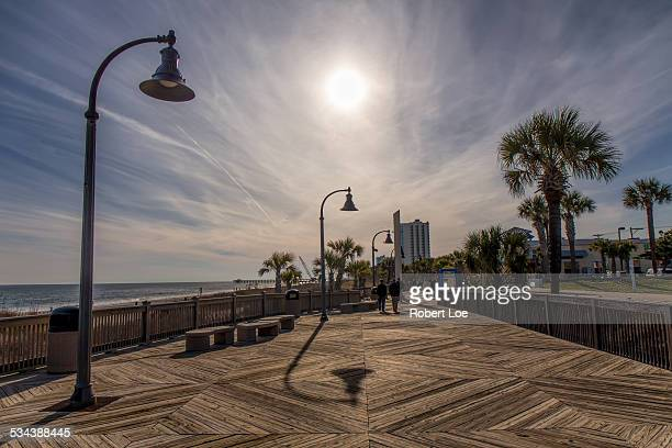 sunny myrtle beach boardwalk - file:myrtle_beach,_south_carolina.jpg stock pictures, royalty-free photos & images