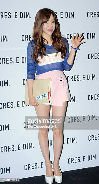 Sunny of Girls' Generation attends the 2016 Hera Seoul Fashion Week - Cres.E.Dim collection at DDP on October 16, 2015 in Seoul, South Korea.