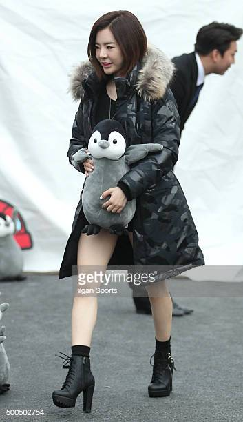 Sunny of Girls' Generation attends the Kolon Sports 'Antartika Penguin Campaign' event at Common Ground on November 24, 2015 in Seoul, South Korea.