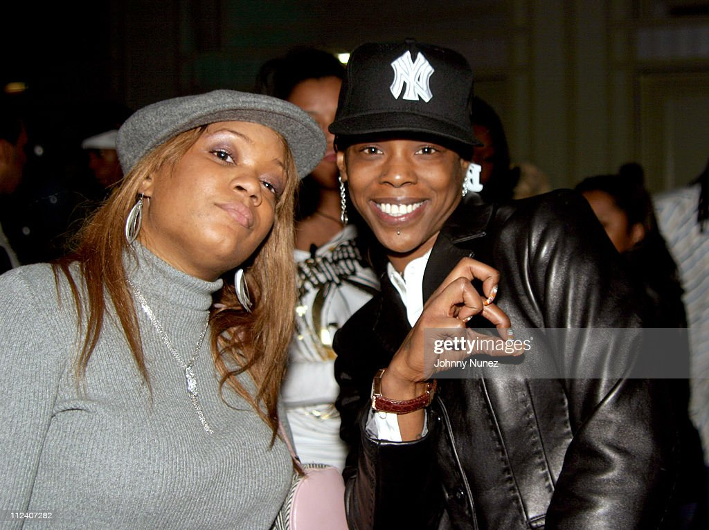 Sunny of Hot 97 FM and Babs during El Murda Mami's Birthday Party -  December 20