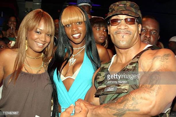 Sunny of Hot 97 Remy Martin and Melle Mel during DJ Kay Slay Birthday Smash Out Hosted by Buffie the Body at The Players Club in New York New York...