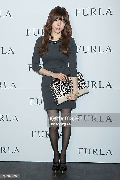 Sunny of South Korean girl group Girls' Generation attends FURLA S/S 2014 Collection at Cais Gallery on February 6, 2014 in Seoul, South Korea.