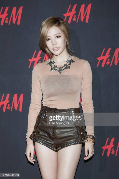 Sunny of South Korean girl group Girls' Generation attends the H&M Autumn Collection Pre-Shopping Party at H&M Gangnam Store on September 3, 2013 in...