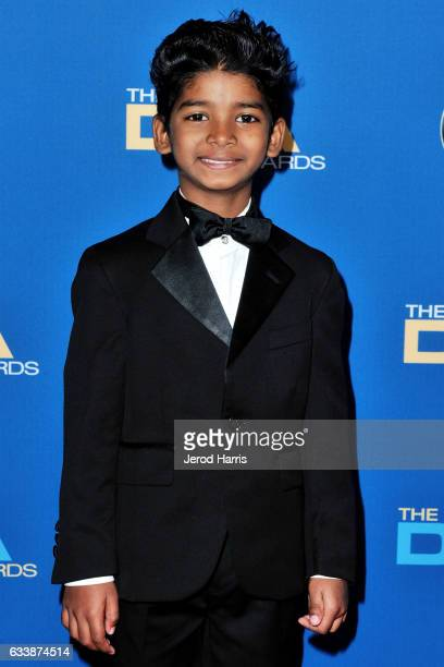 Sunny Pawar arrives at the 69th Annual Directors Guild of America Awards at The Beverly Hilton Hotel on February 4 2017 in Beverly Hills California