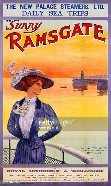 Sunny Ramsgate Poster