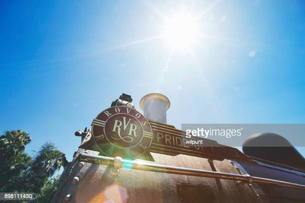 sunny rovos rail - railings stock photos and pictures
