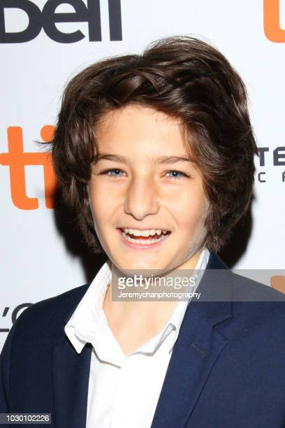 Sunny Suljic attends the 'Mid90s' Premiere during 2018 Toronto International Film Festival at Ryerson Theatre on September 9 2018 in Toronto Canada