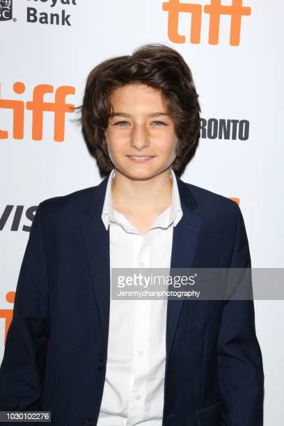 Sunny Suljic attends the Mid90s Premiere during 2018 Toronto International Film Festival at Ryerson Theatre on September 9 2018 in Toronto Canada