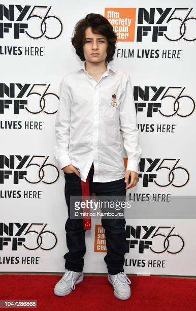 Sunny Suljic attends the Mid90s screening during the 56th New York Film Festival at Elinor Bunin Munroe Film Center on October 7 2018 in New York City