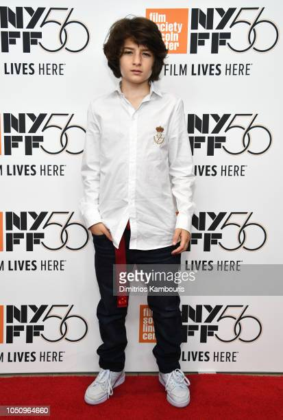 Sunny Suljic attends the Mid90's Screening during the 56th New York Film Festival at Elinor Bunin Munroe Film Center on October 07 2018 in New York...