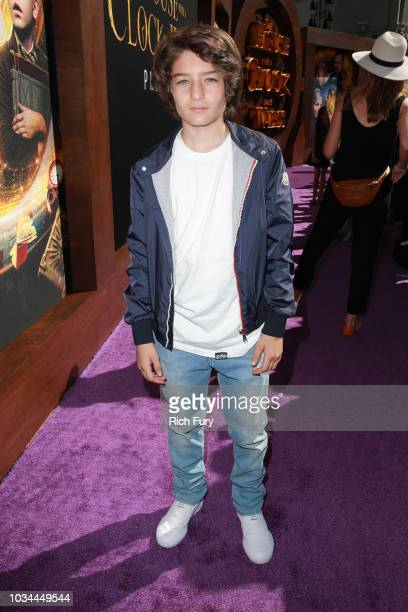 Sunny Suljic attends the premiere of Universal Pictures' The House With A Clock In Its Walls at TCL Chinese Theatre IMAX on September 16 2018 in...
