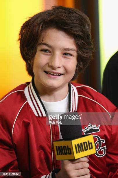 Sunny Suljic of Mid90's attends The IMDb Studio presented By Land Rover At The 2018 Toronto International Film Festival at Bisha Hotel Residences on...