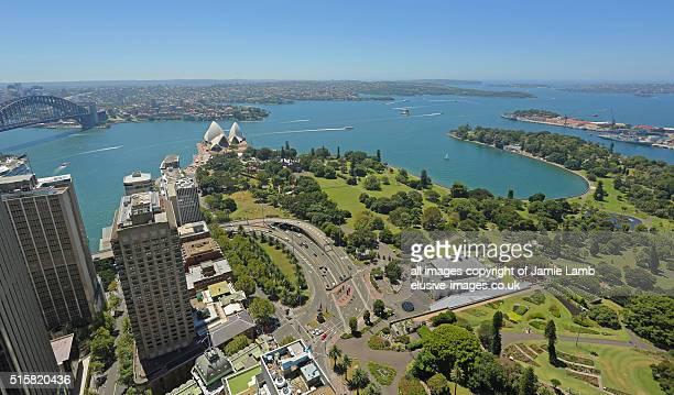 Sunny Sydney Harbour from CBD