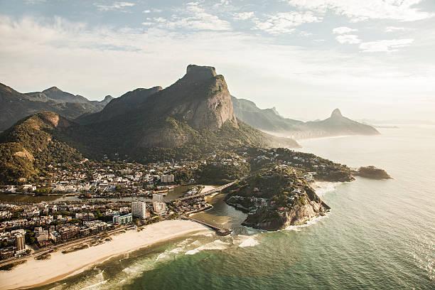 Sunny view onto Barra Tijuca, Rio de Janeiro