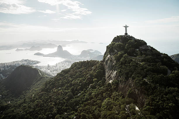 Sunny View Onto Corcovado And Sugarloaf Wall Art
