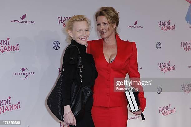 Sunnyi Melles And Suzanne Von Borsody In The 'Hanni and Nanni' movie premiere in Mathäser movie palace in Munich