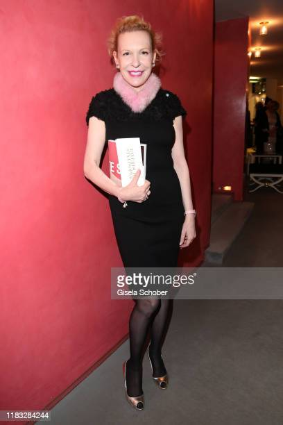 Sunnyi Melles at the opera premiere of Die tote Stadt by Erich Wolfgang Korngold at Bayerische Staatsoper on November 18 2019 in Munich Germany