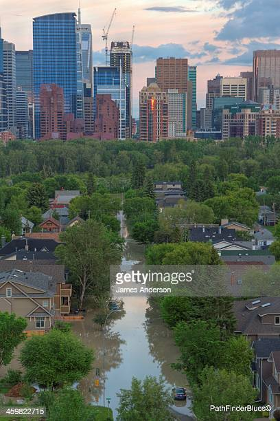 CONTENT] Sunnyside community sits flooded by the Bow River The worst flooding ever has hit Calgary and many towns and communities from the rockies to...