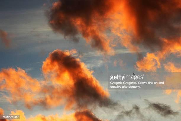 sunrice sky clouds - gregoria gregoriou crowe fine art and creative photography stockfoto's en -beelden