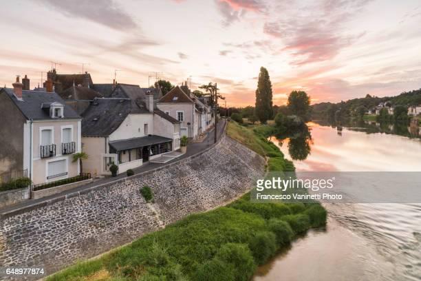 Sunrise. Amboise, Indre-et-Loire,