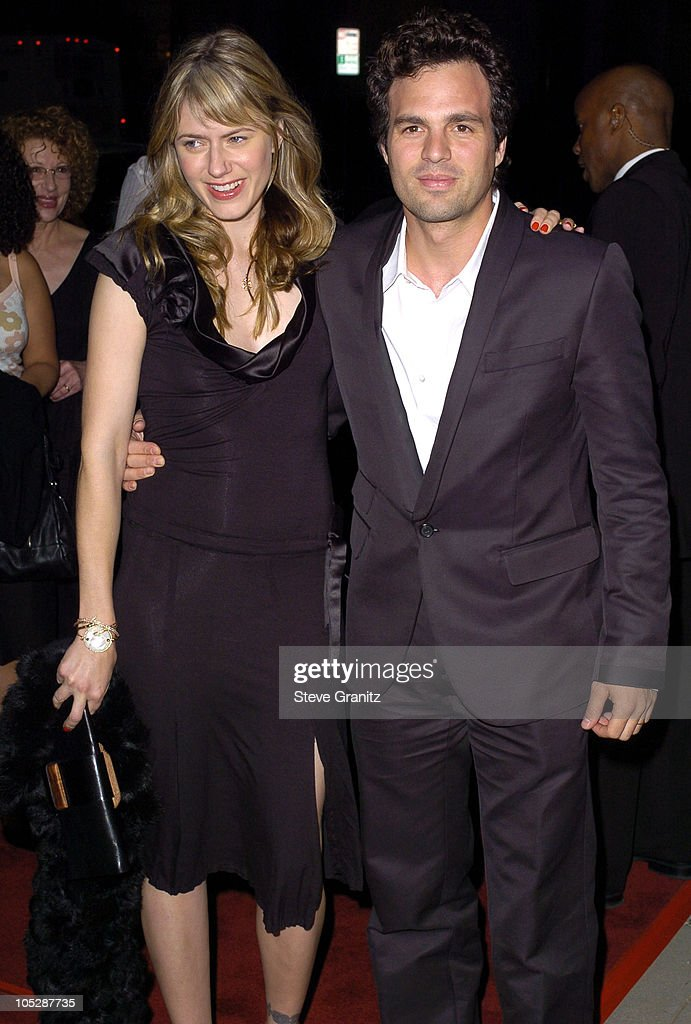 Sunrise and Mark Ruffalo during 'Eternal Sunshine Of The Spotless Mind' - Los Angeles Premiere at Academy Theatre in Beverly Hills, California, United States.