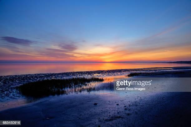 Sunrise and Shoreline Nassau Sound