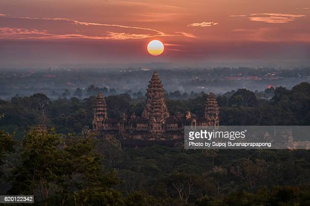 Sunrise at angkor wat Siem Reap,Cambodia