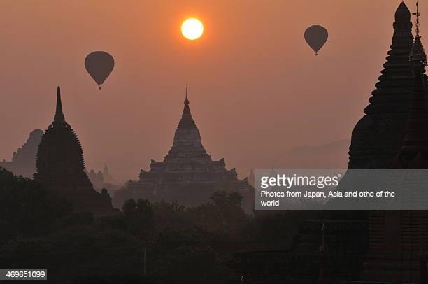Sunrise at Bagan,Myanmar