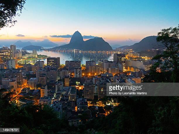 Sunrise at Botafogo Bay