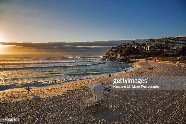 Sunrise at Bronte beach in Sydney, Australia