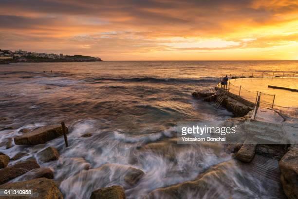 Sunrise at Bronte Beach, Sydney