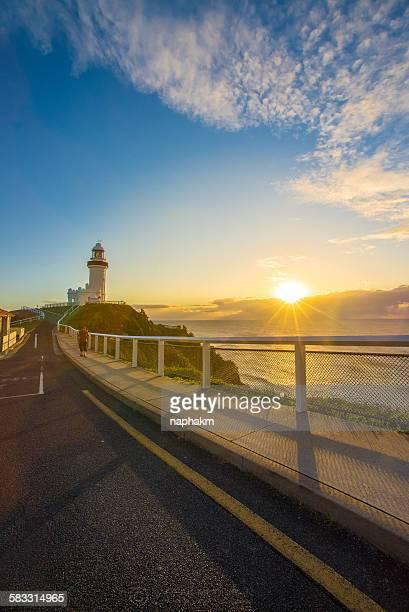 Sunrise at Byron bay, Australia