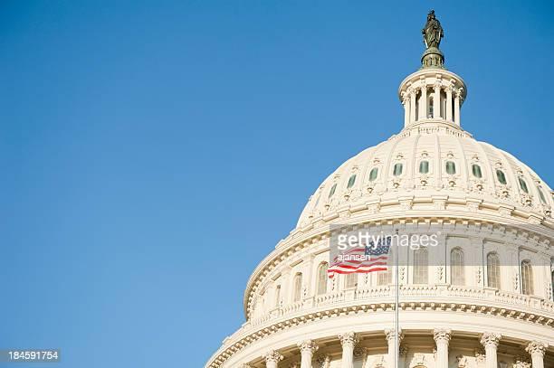 Sunrise at Capitol Hill in Washington, DC