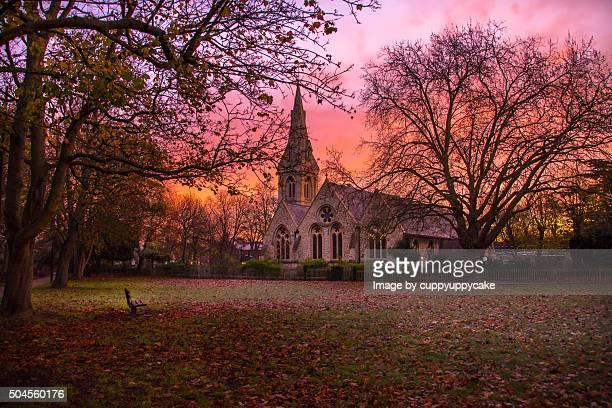 Sunrise at Christ Church