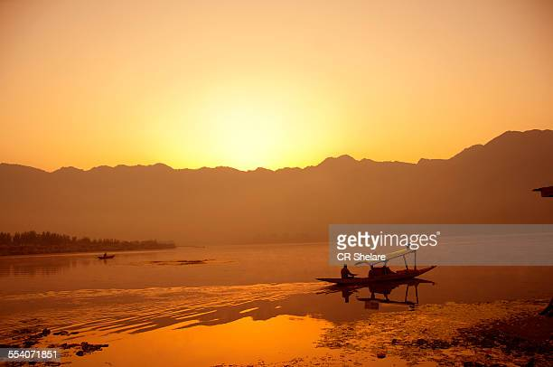 Sunrise at Dal lake
