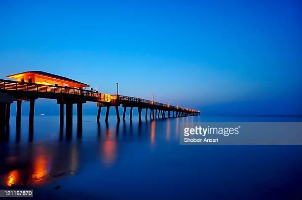 Sunrise at dania beach park, South Florida