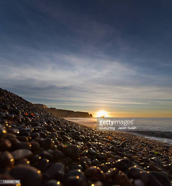 sunrise at freshwater bay - s0ulsurfing stock pictures, royalty-free photos & images