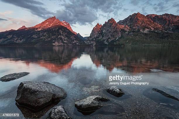 Sunrise at Jenny Lake