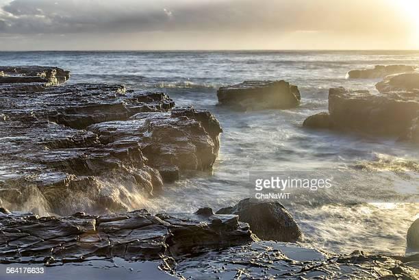 Sunrise at Karma beach