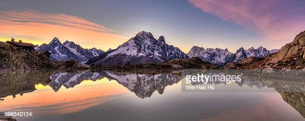 Sunrise at Lac Blanc