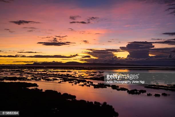 Sunrise At Lake Titicaca, Puno Region, Peru, South America