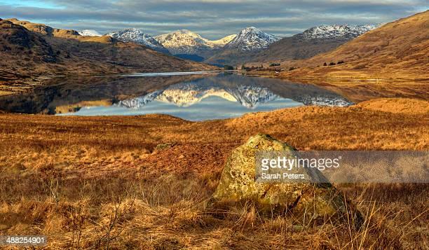 Sunrise at Loch Arklet