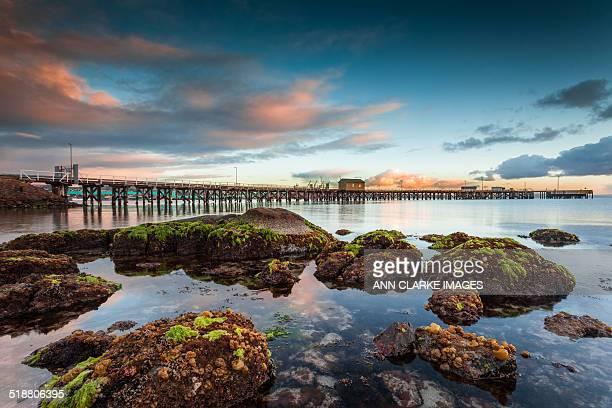 sunrise at low tide - porto lincoln - fotografias e filmes do acervo