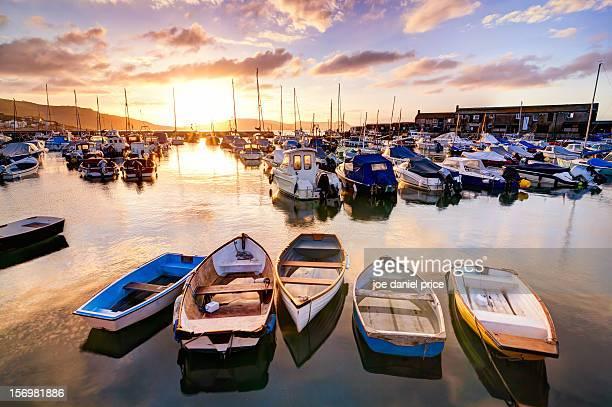 Sunrise at Lyme Regis Harbour