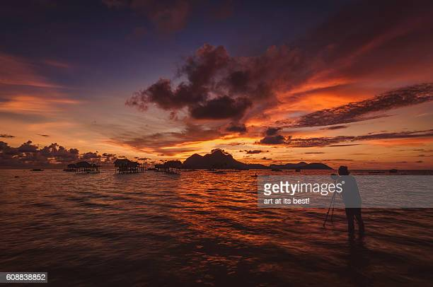 Sunrise at Maiga Island