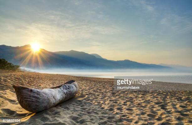 Sunrise at Malawi Lake