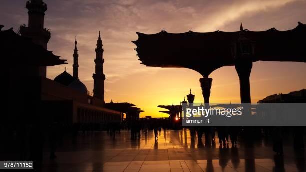 Sunrise at Masjid an-Nabawi