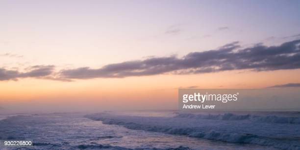 sunrise at morgan's bay - eastern cape stock pictures, royalty-free photos & images
