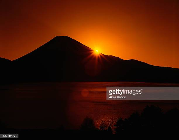 Sunrise at Mount Fuji